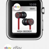 eBay: El sitio web de compras y subastas en su muñeca para encontrar las mejores ofertas. Foto:Apple