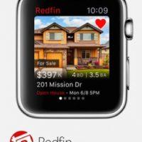 Redfin: Fotos y ubicaciones de anuncios inmobiliarios por donde quiera que se encuentren. Foto:Apple