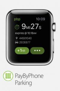 PayByPhone Parking: Una app para pagar el boleto de estacionamiento y una notificación antes de que expire el tiempo. Foto:Apple
