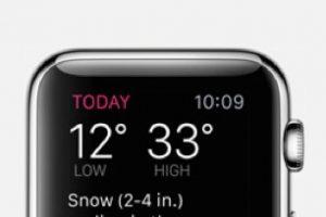Dark Sky: Previsiones meteorológicas con una línea de 24 horas y alertas precisas de lluvia o nieve una hora antes de que suceda. Foto:Apple