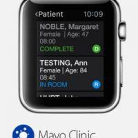 Mayo Clinic Synthesis: Ideal para aquellos doctores que tienen un día agitado debido a que les indicará cuántos pacientes están en el vestíbulo esperando cita, si alguno está en otra habitación o en estudios especializados. Foto:Apple
