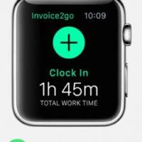 Invoice2go: Monitorea el tiempo que pasan trabajando para que conozcan el tiempo invertido y hasta lo que podrían cobrar. Foto:Apple