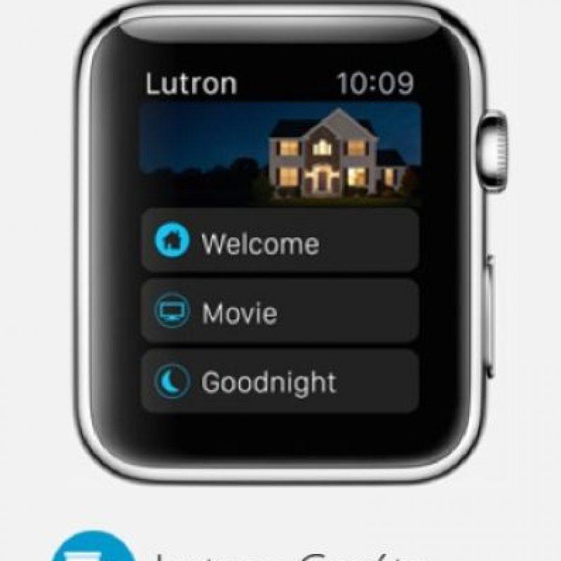 Lutron Caséta: Controlarán las luces de su hogar sin importar en donde se encuentren. Foto:Apple