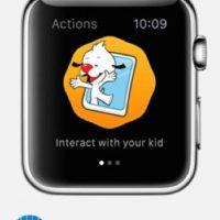 PlayKids: Cuando sus hijos vean videos en la app de PlayKids, ustedes pueden detener el video, enviarles un divertido mensaje o lo que deseen. Foto:Apple