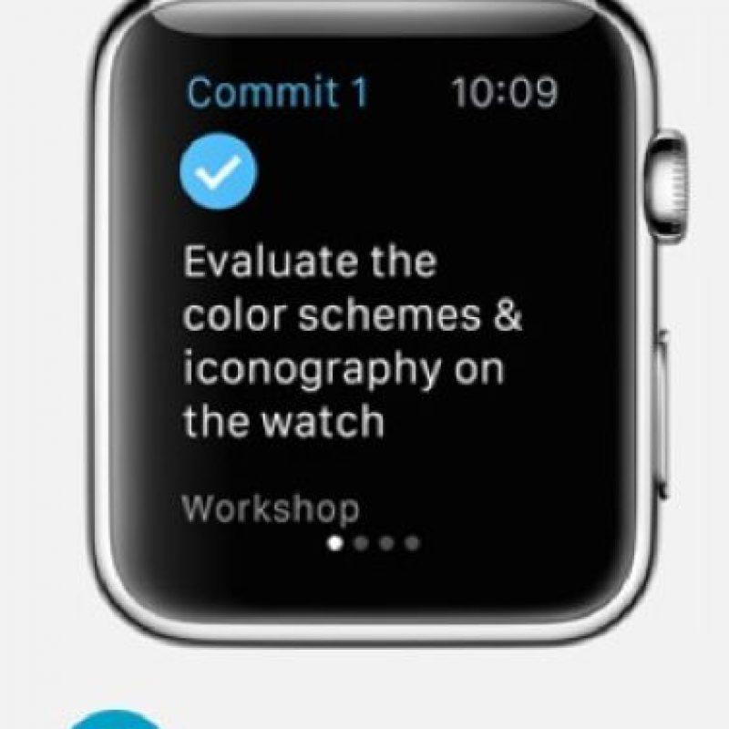 CommitTo3: Podrán crear equipos de trabajo, amigos o familia que realicen tres tareas específicas durante el día. Foto:Apple