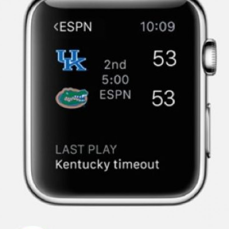 ESPN: Las últimas noticias sobre sus deportes preferidos las podrán encontrar en esta app. Foto:Apple