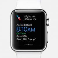 American Airlines: Toda la información del vuelo en su muñeca. Foto:Apple