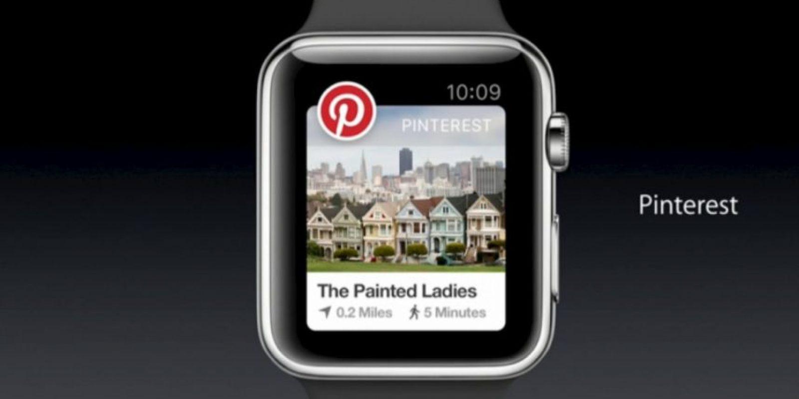 Pinterest: Podrán encontrar y guardar las coas que más les gusten. Foto:Apple