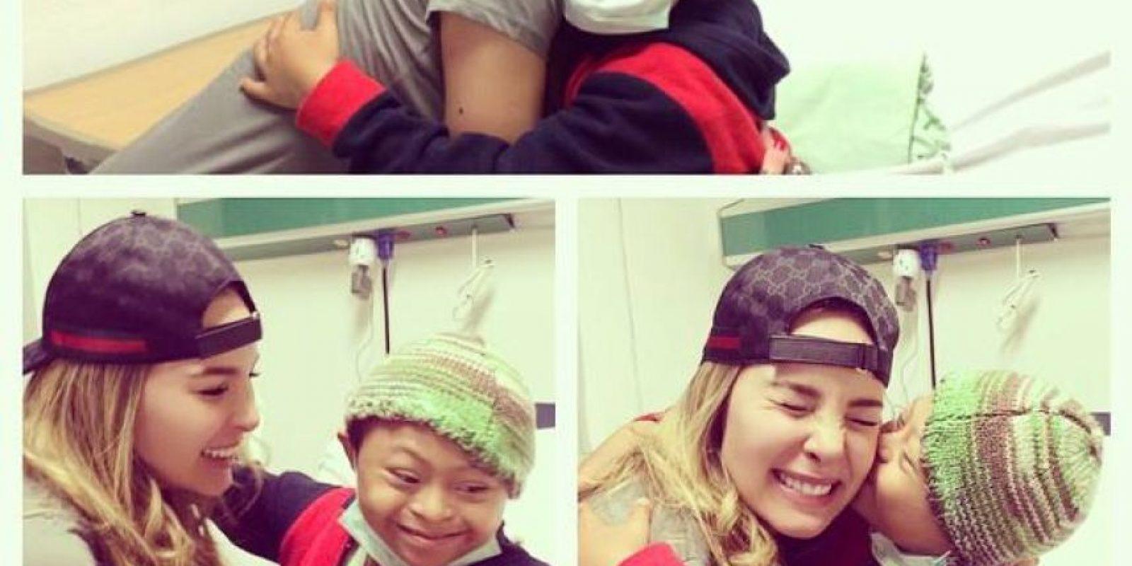 Aunque no es la primera vez que la cantante apoya a fans en situaciones similares Foto:Facebook/Belinda