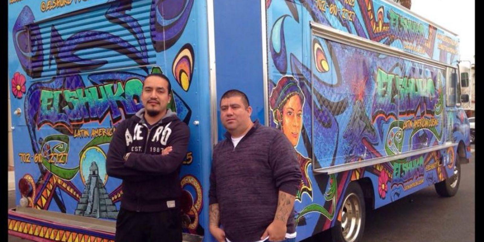 Christian Guzmán y su hermano Foto:Cortesía