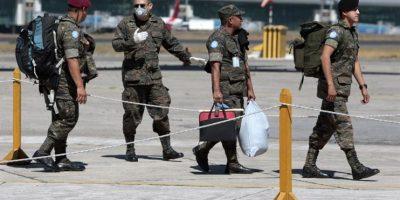FOTOS. Aíslan a 150 soldados por riesgo de ébola