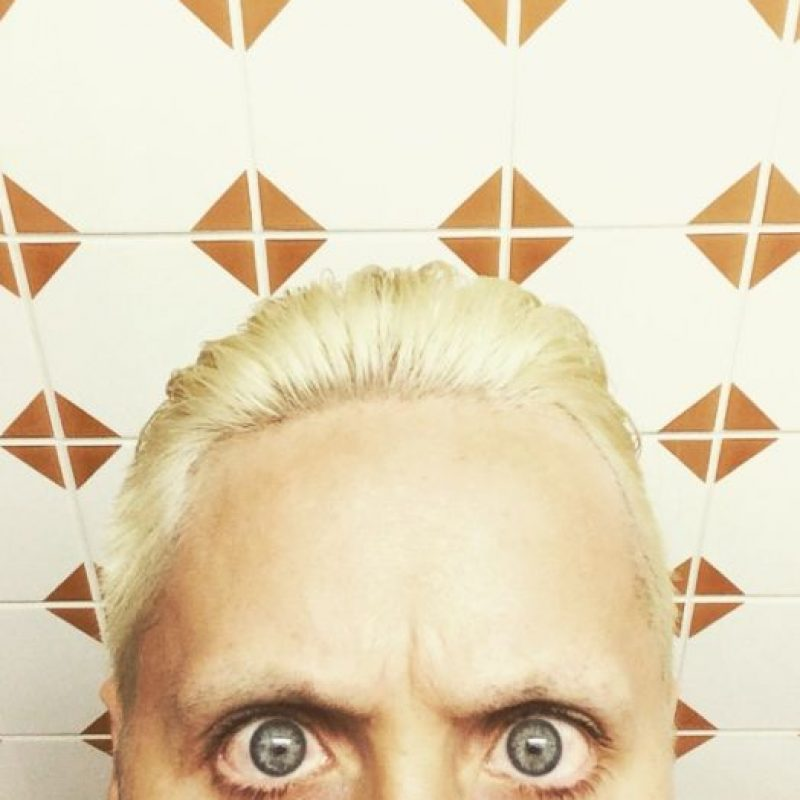Oh, Jared. Qué has hecho. Foto: Instagram/Jared Leto