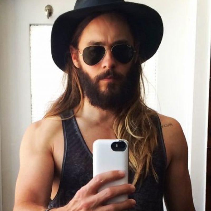 Lo siguen haciendo, pero nada como el mejor peinado que tuviste. Foto:Instagram/Jared Leto