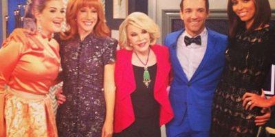 El programa ya no es lo mismo sin Joan Rivers, quien fue la estrella del programa y murió el año pasado. Foto:E!