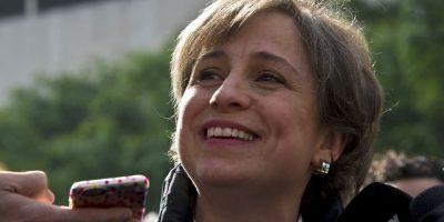 3. La mujer cuestionó en vivo si el entonces presidente Felipe Calderón tenía problemas de alcoholismo. Foto:AFP