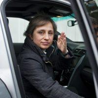 """2. Según CNN, en 2001 la Aristegui tuvo problemas con MVS, por alegadamente haber """"transgredido"""" el código de ética. Foto:AFP"""