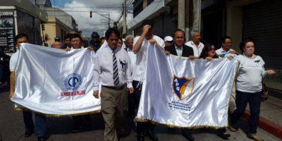 La tercera marcha de periodistas en la capital por muerte de colegas