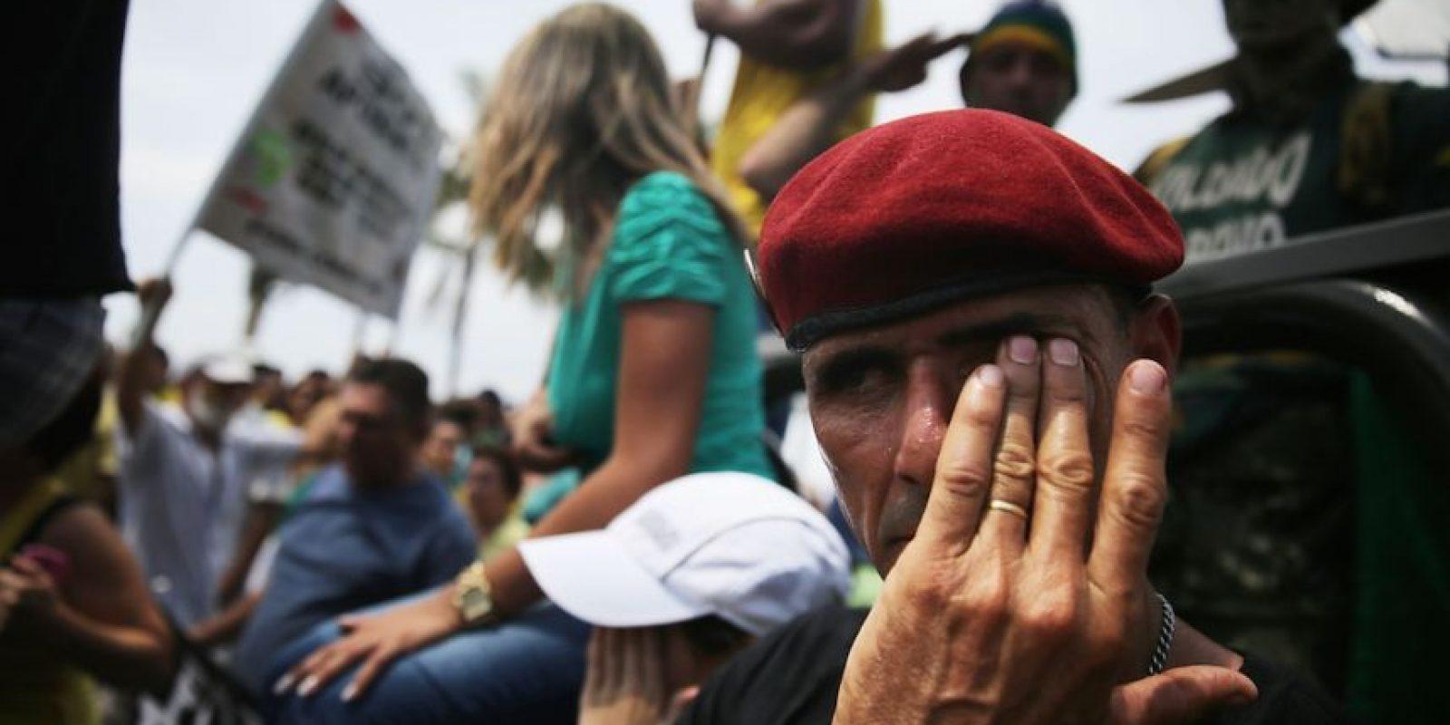Todo se debe a un escándalo de corrupción en Petrobras. Foto:Getty Images
