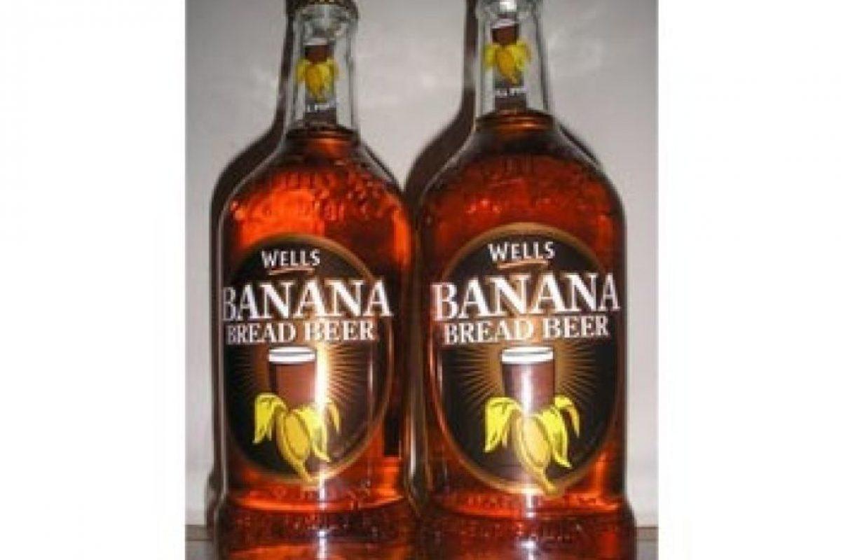 9. Banana. Elaborada en Londres, tiene sabor a plátano