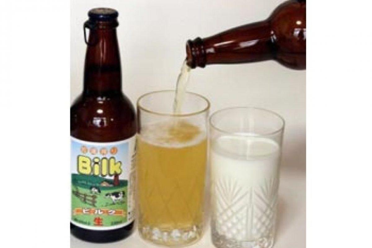 7. Bilk. Es una cerveza elaborada a partir de la leche. Se vende en Japón