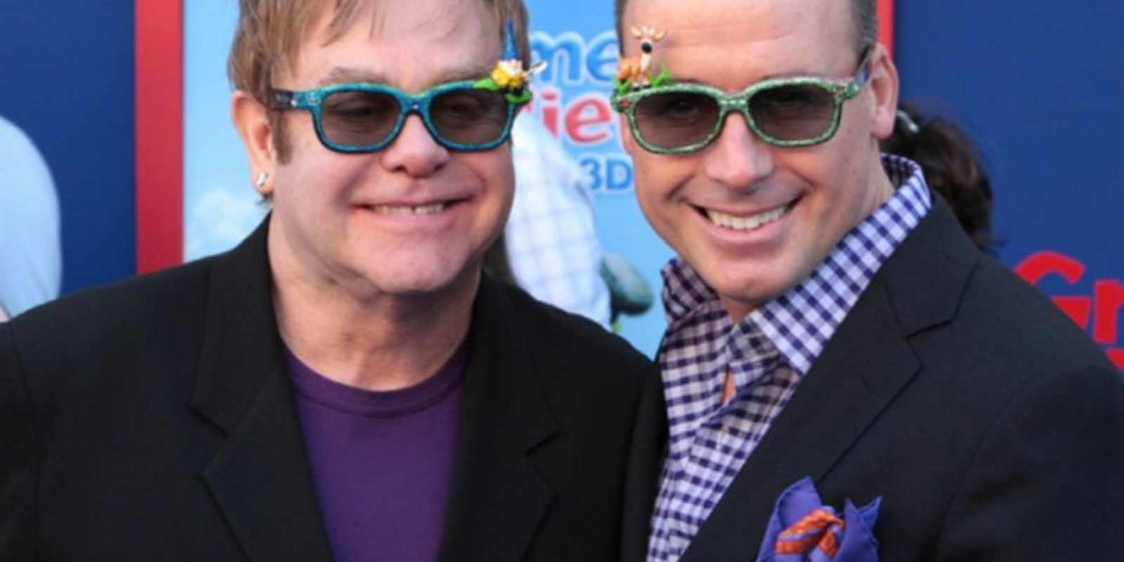 Elton John y David Furnish Foto: Agencias
