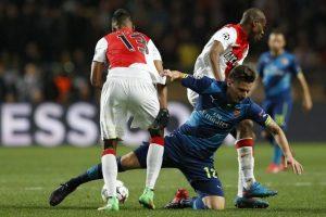 """Los """"Gunners"""" no lograron la remontada contra el equipo del Principado. Foto:AFP"""