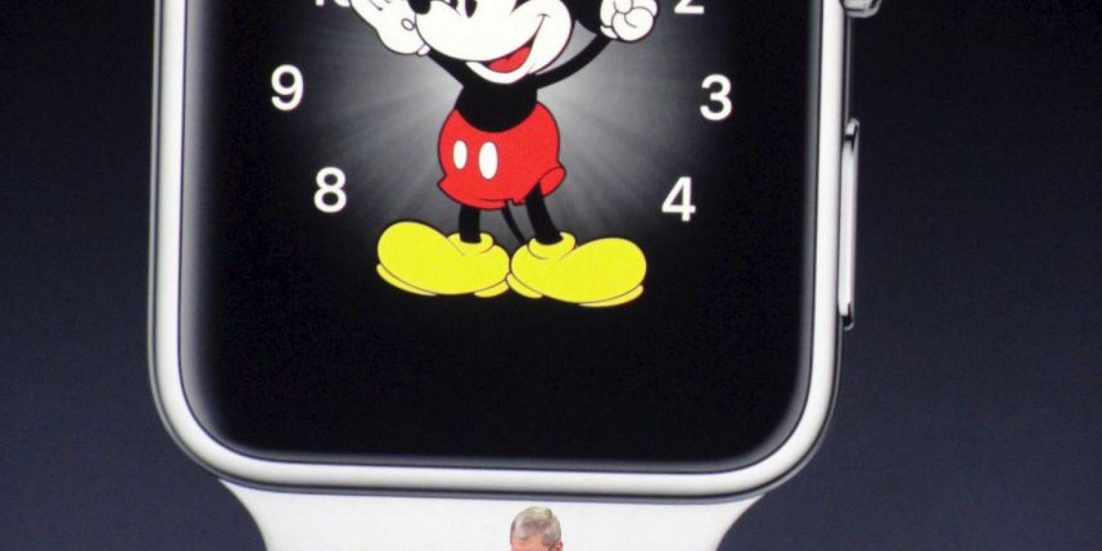 El 24 de abril saldrá a la venta el reloj de Apple en EU. Foto:Getty