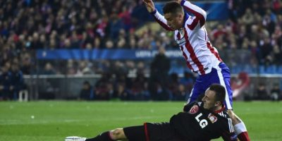 El Atlético dejó al margen de la contienda al Bayer Leverkusen y pasó a los cuartos de final. Foto:AFP