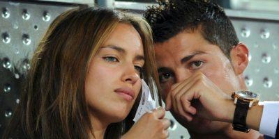 Cuando terminó su relación Irina declaró que el futbolista la hacía sentirse fea. Foto:Getty