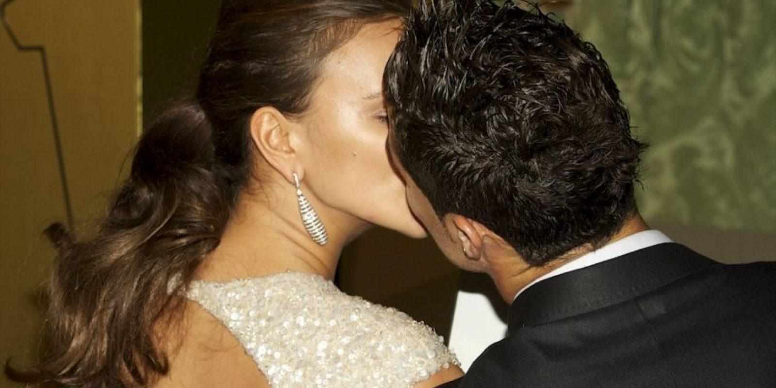 Irina y Cristiano comenzaron su relación en 2010. Foto:Getty