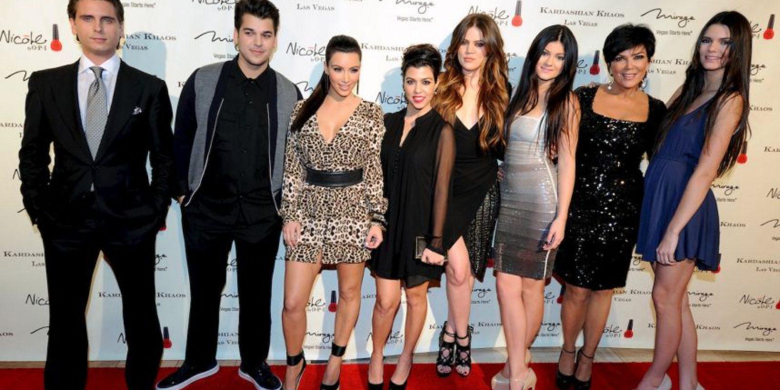"El ""clan"" Kardashian Foto:Getty"