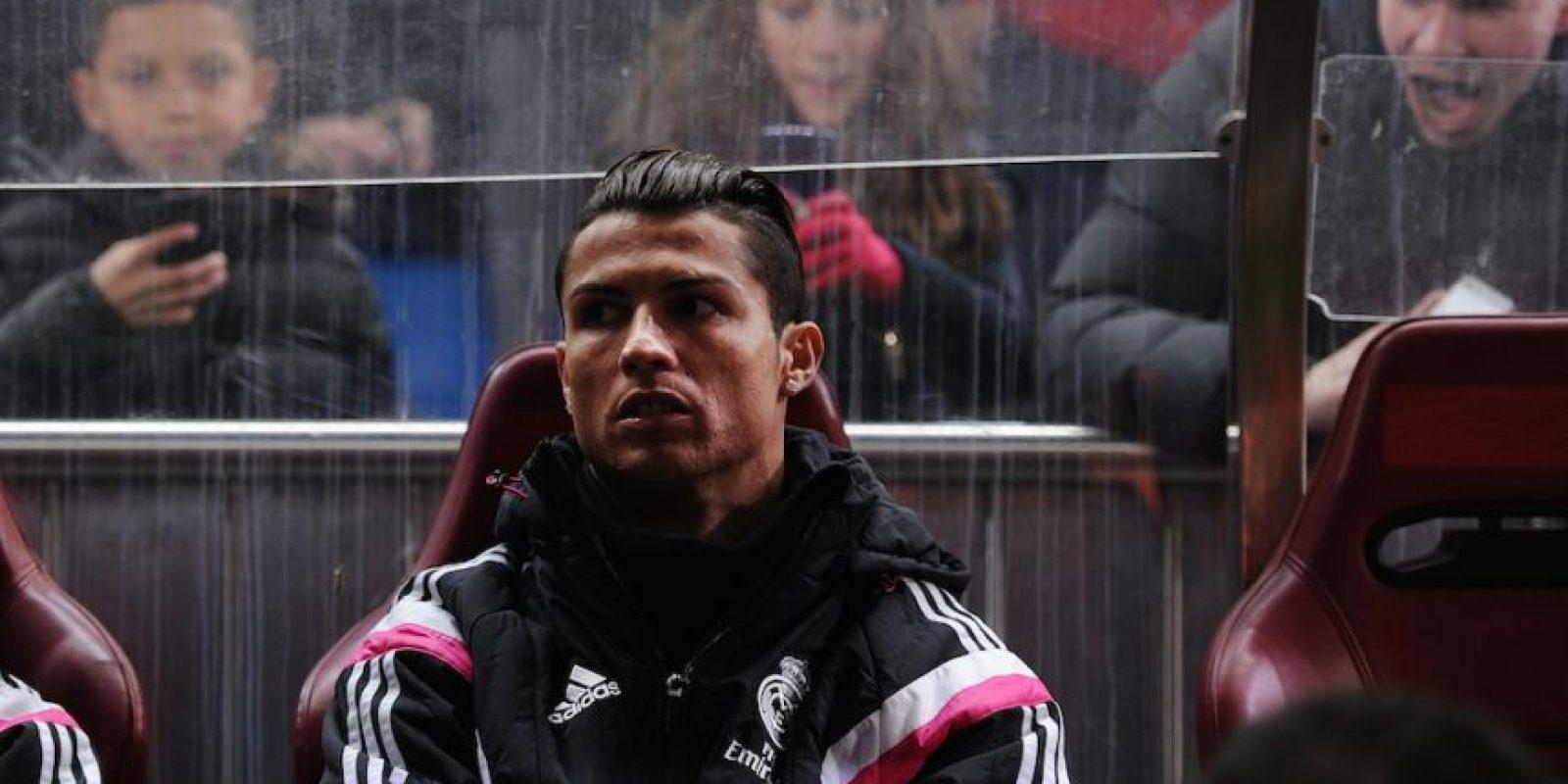 Carlo Ancelotti, entrenador merengue, también lo ha relegado a la banca. Foto:Getty Images