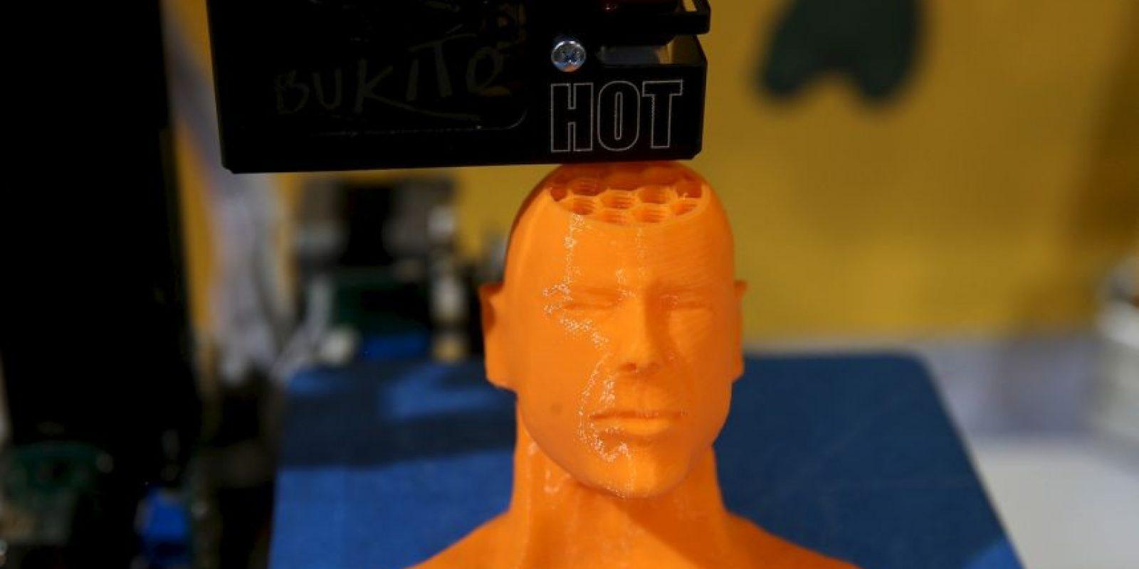 Modelos a escala con una precisión exacta se pueden crear en estos aparatos. Foto:Getty