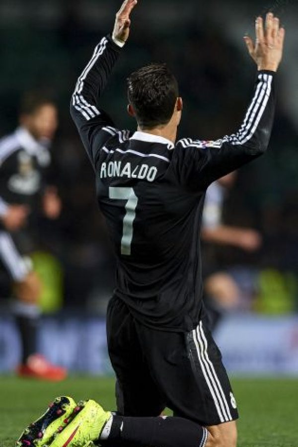 Durante la primera mitad de la Liga española, Cristiano hizo 25 goles. Foto:Getty Images