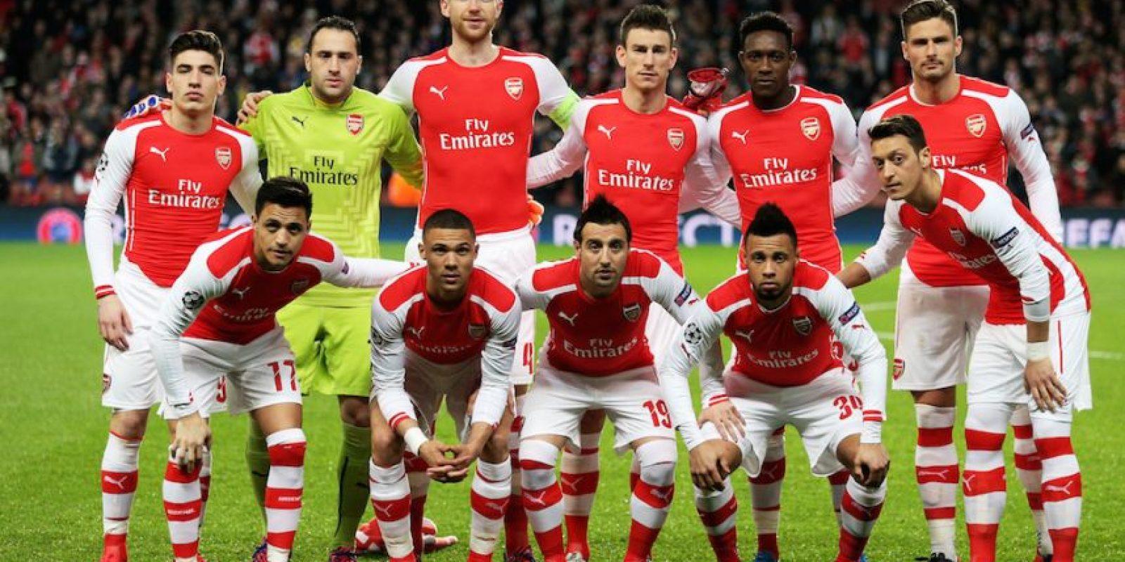 Arsenal quiere pasar a cuartos de final. Foto:Getty Images
