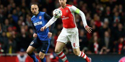 Dimitar Bervatov hizo mucho daño a la defensa del Arsenal. Foto:Getty Images
