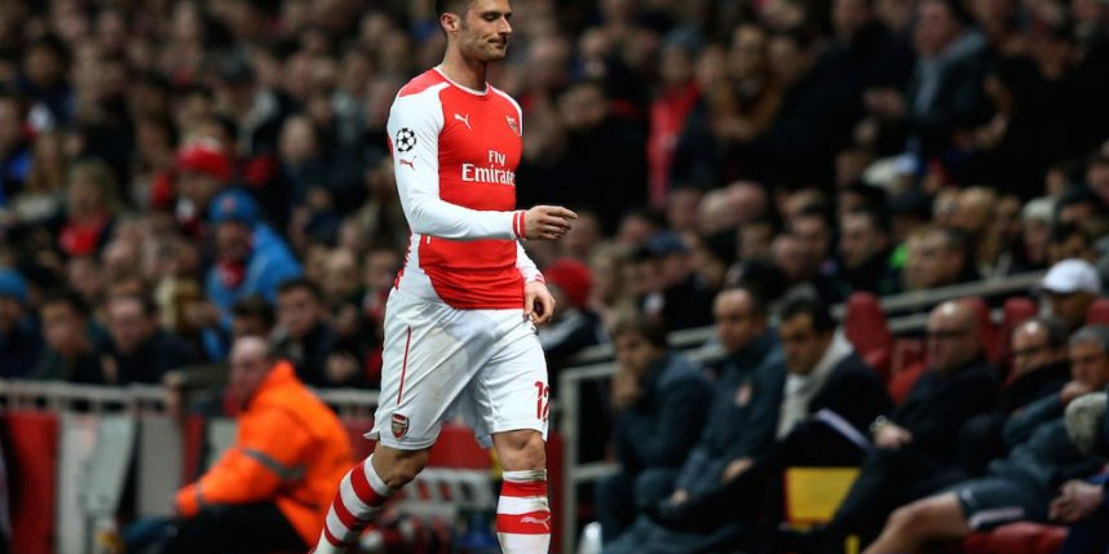 Oliver Giroud no pudo hacer daño a los franceses. Foto: Getty Images