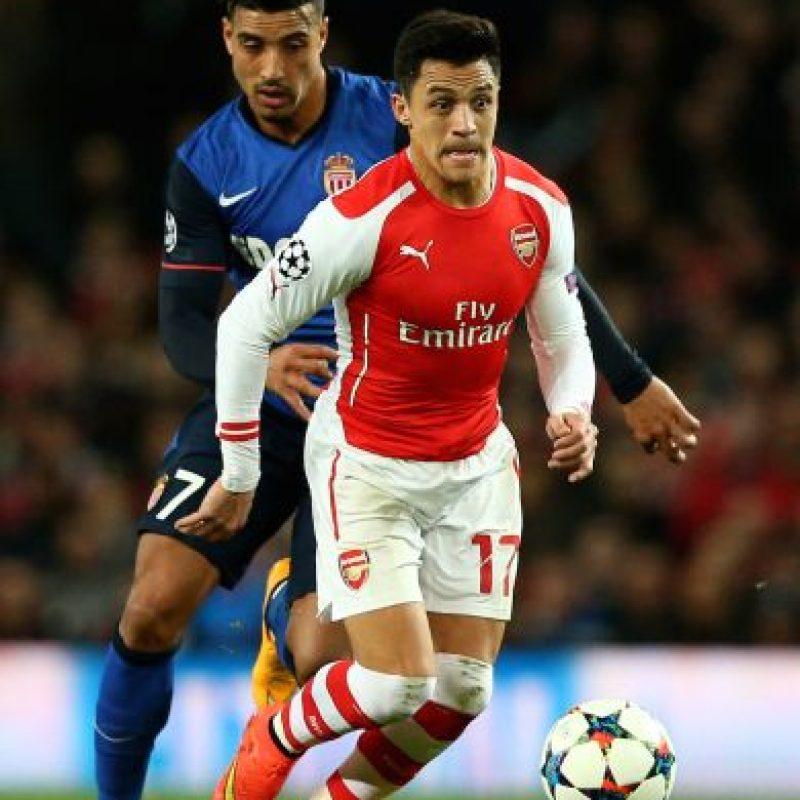 Alexis Sánchez no quiere quedarse en esta ronda. Foto:Getty Images