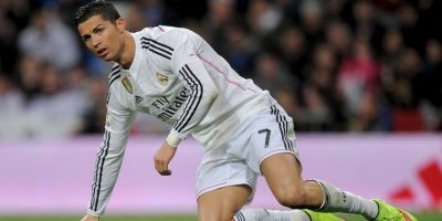 Cristiano Ronaldo futbolista del Real Madrid actualmente se encuentra feliz después de su ruptura con la modelo rusa. Foto:Getty