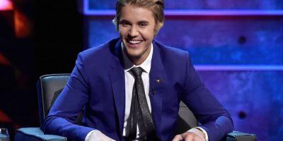 """""""Hasta existe una figura de cera de Justin en el museo de Madame Taussanuds en Londres, Yo la he visto pero tiene el rostro volteado hacia abajo en las piernas de Usher"""". Foto:Getty Images"""