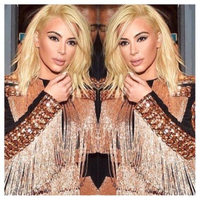 Y por último.. ¿ya mencionamos que ambas tienen el mismo color de cabello? Foto:Instagram @kimkardashian