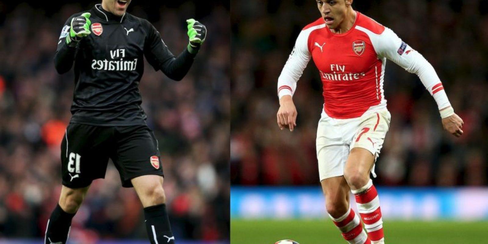 David Ospina y Alexis Sánchez buscaran remontar para acceder a cuartos. Foto:Getty Images