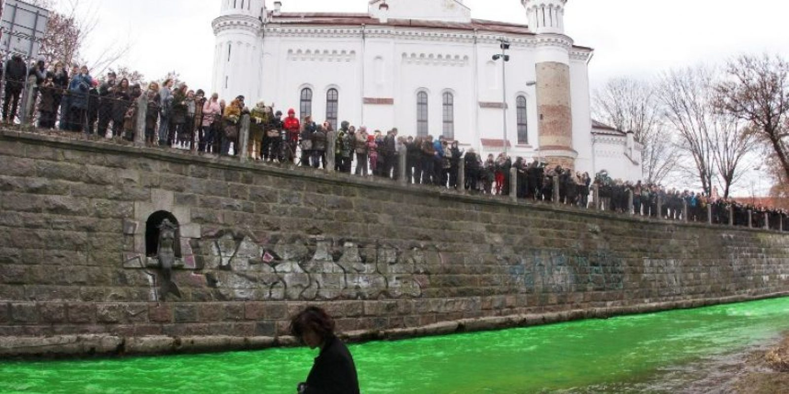 Río Vilna, en Lituania Foto:AFP