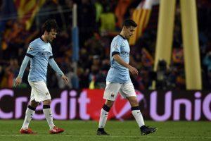 El cuadro azulgrana liquidó la serie contra el City con un gol en el Camp Nou. Foto:AFP