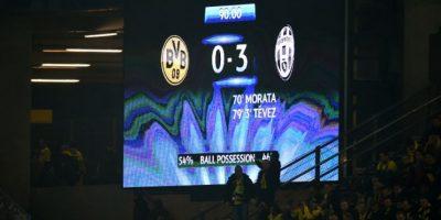 El campeón italiano logró un resultado abultado en su visita al campo del Dortmund. Foto:AFP