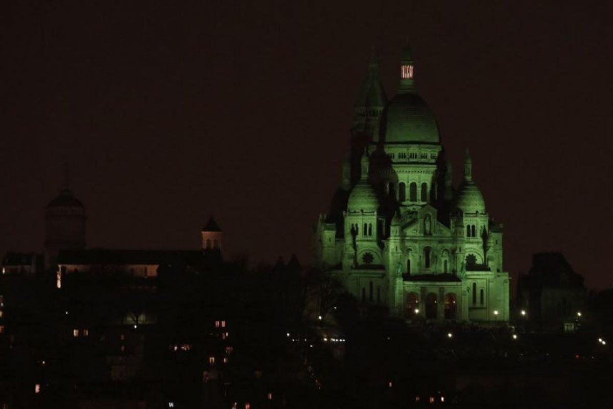 Basílica del Sagrado Corazón – París, Francia Foto:AFP