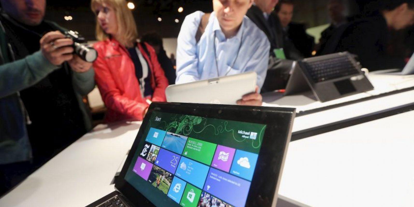 Las actualizaciones de Windows fueron una base para el cambio de imagen de la empresa. Foto:Getty