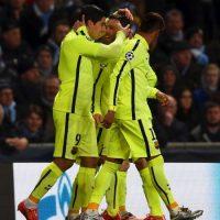Con dos goles de Luis Suárez Foto:Getty Images