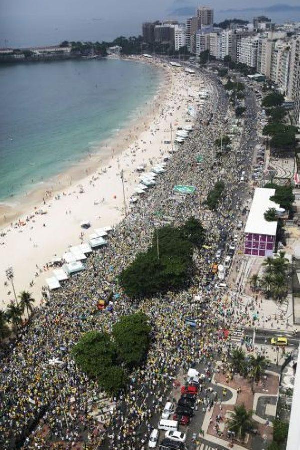 Del total, 71% votó a favor de Dilma Rousseff en la segunda vuelta de las elecciones presidenciales en 2014. Foto:Getty Images