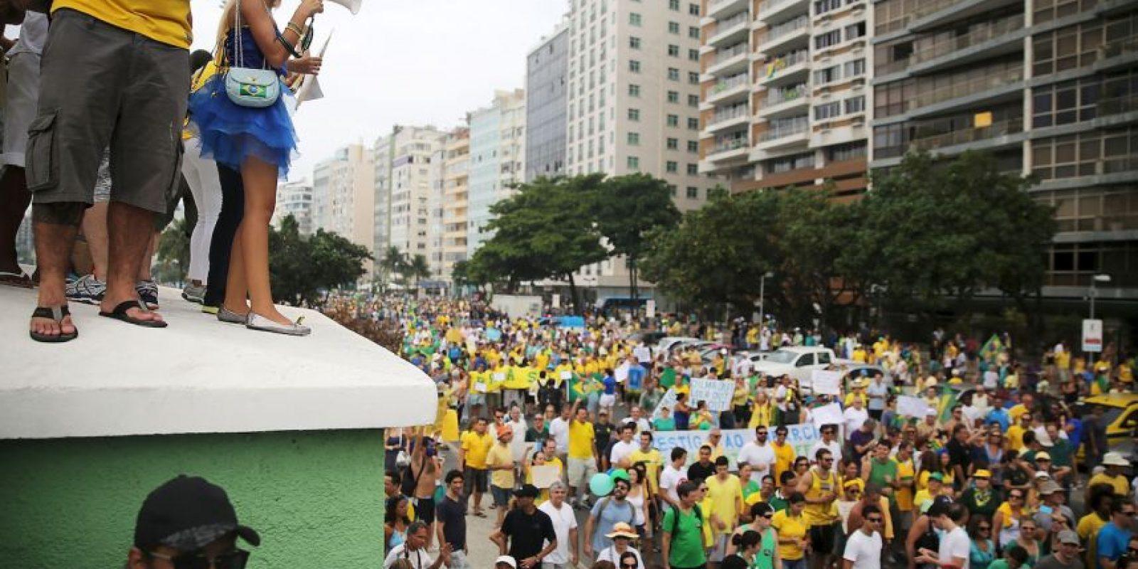 El Datafolha estima que 210.000 personas asistieron al evento Foto:Getty Images
